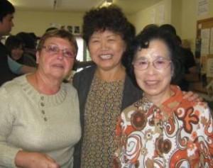 Nicole, Kyoko and Saki
